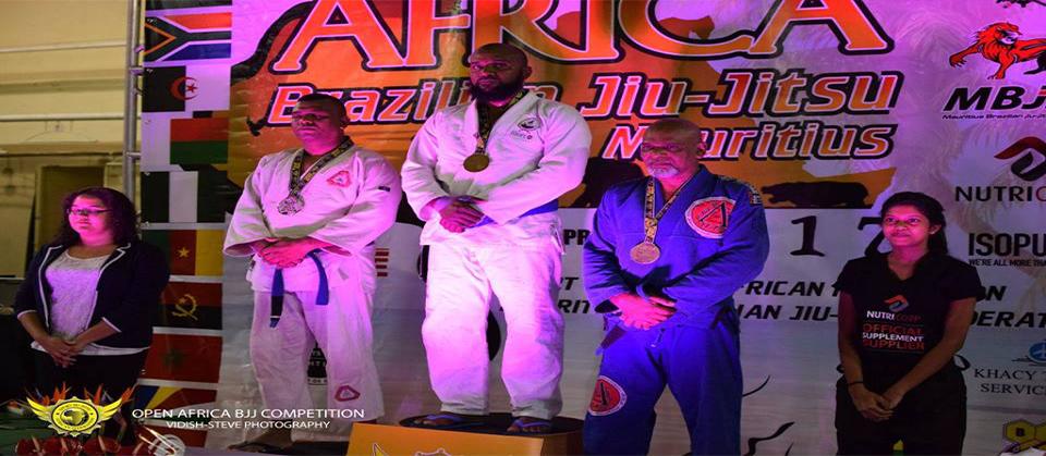 Hamahoullah Hanena 2 Médailles d'Or Open Africa 2017